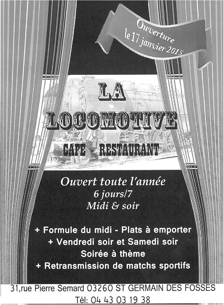 Restaurant Saint Germain Des Fosses